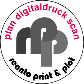 Plan Digitaldruck Scan Logo